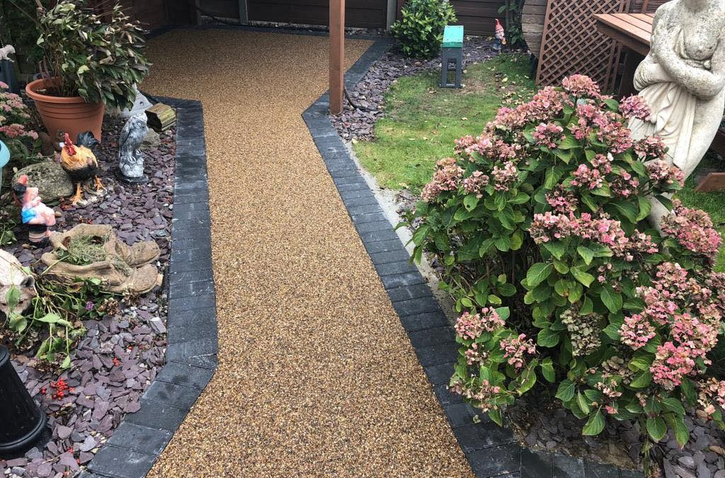 Resin Stone Patio